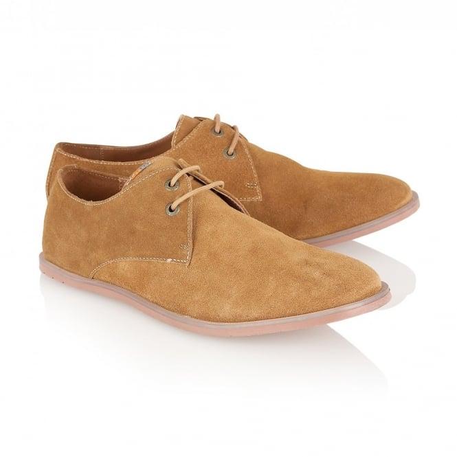 Derby Men Shoe Caramel