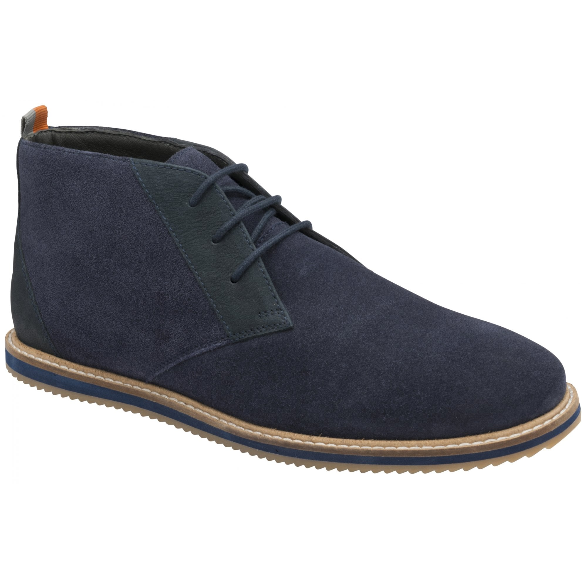 navy suede Frank Wright Baxter III lace