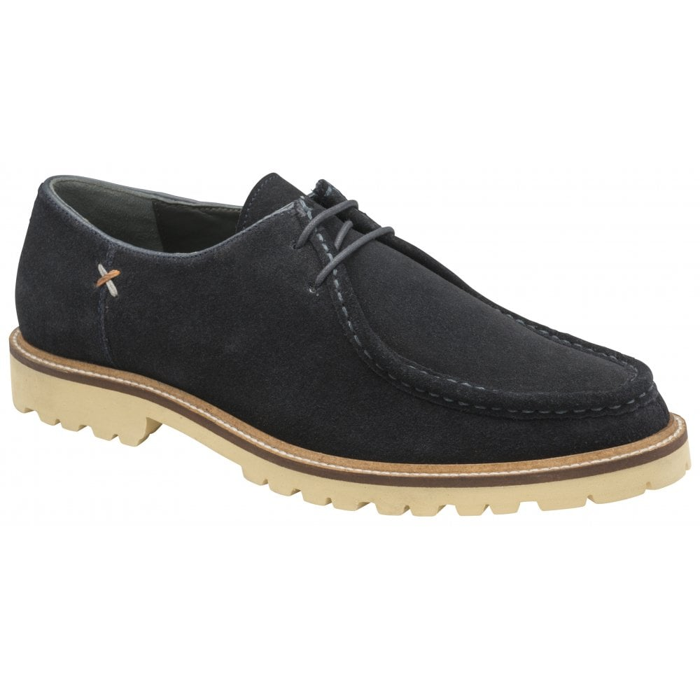 navy suede Frank Wright Leto lace-up
