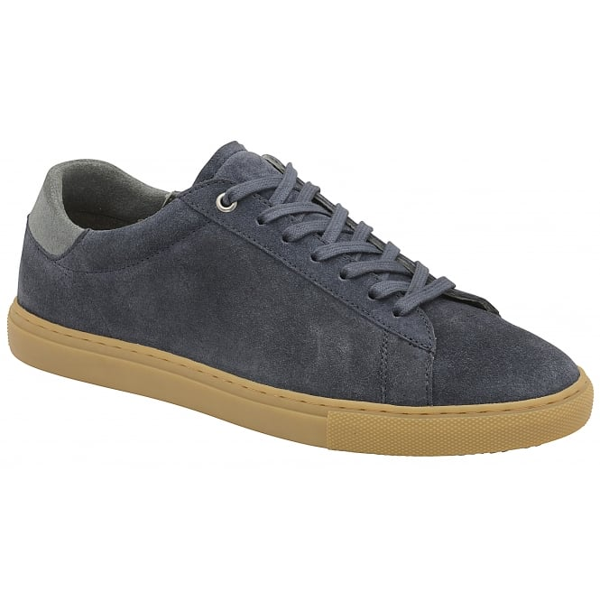 Navy Tigers Suede Trainer | Frank Wright