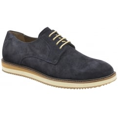 Navy Tom Suede Derby Shoe | Frank Wright