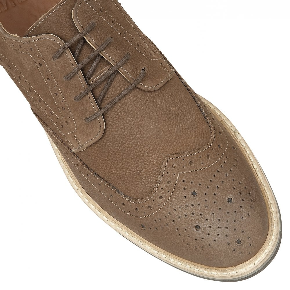 buy s frank wright histon brown leather derby shoe