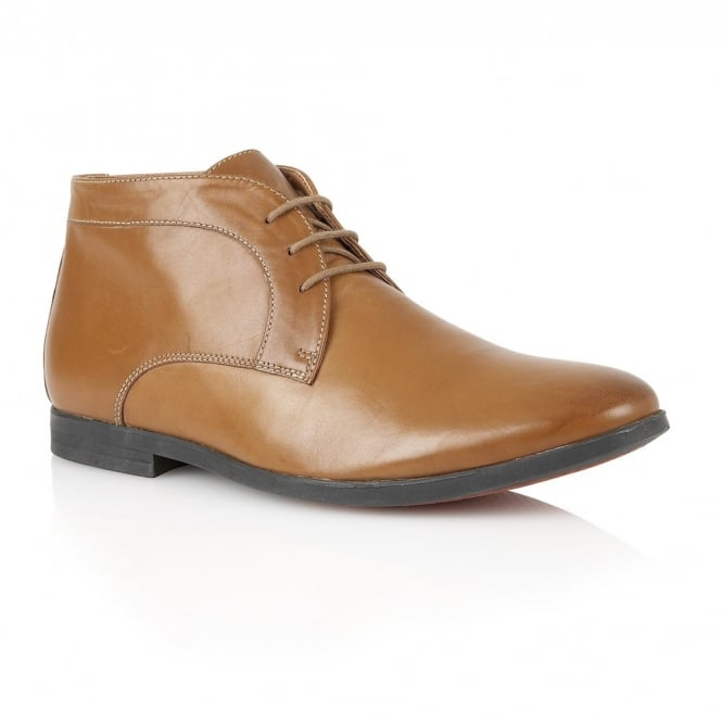 Frank Wright Reid Tan Leather Boot