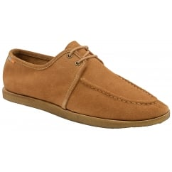 Rutland Rust Suede Moccasin | Frank Wright
