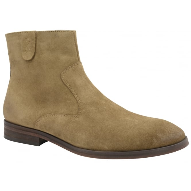 Sahara Sand Edison Suede Casual Boot | Frank Wright