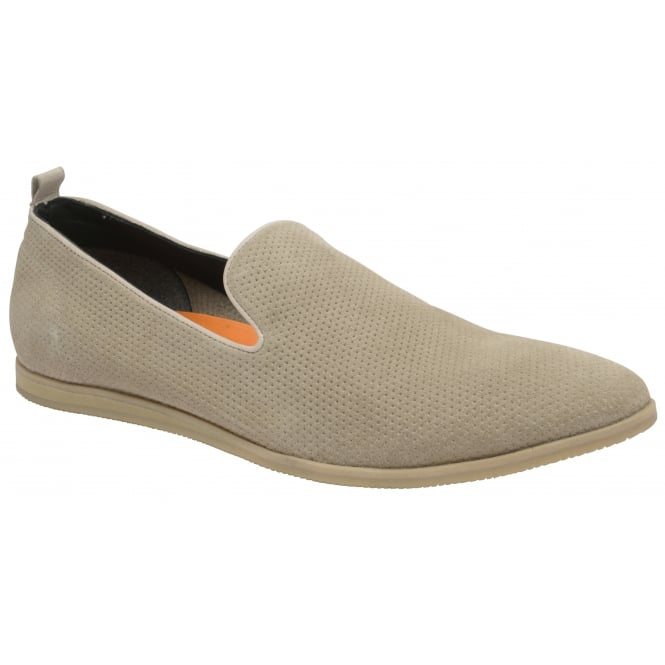Sand Alfredo Suede Slip-on Shoe | Frank Wright