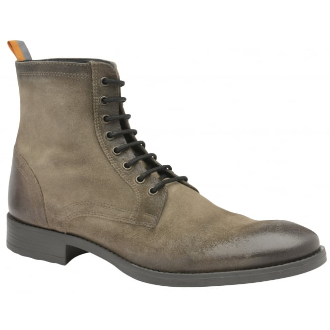 Sand Birch Suede Lace Up Boot | Frank Wright
