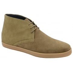 Sand Bronco Suede Derby Boot | Frank Wright