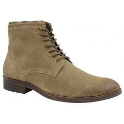 Sand Clyde Suede Derby Boot | Frank Wright