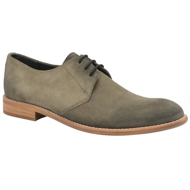 Sand Pitt Suede Derby Shoe | Frank Wright