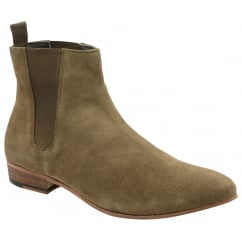 Sand Sundance Suede Chelsea Boot | Frank Wright