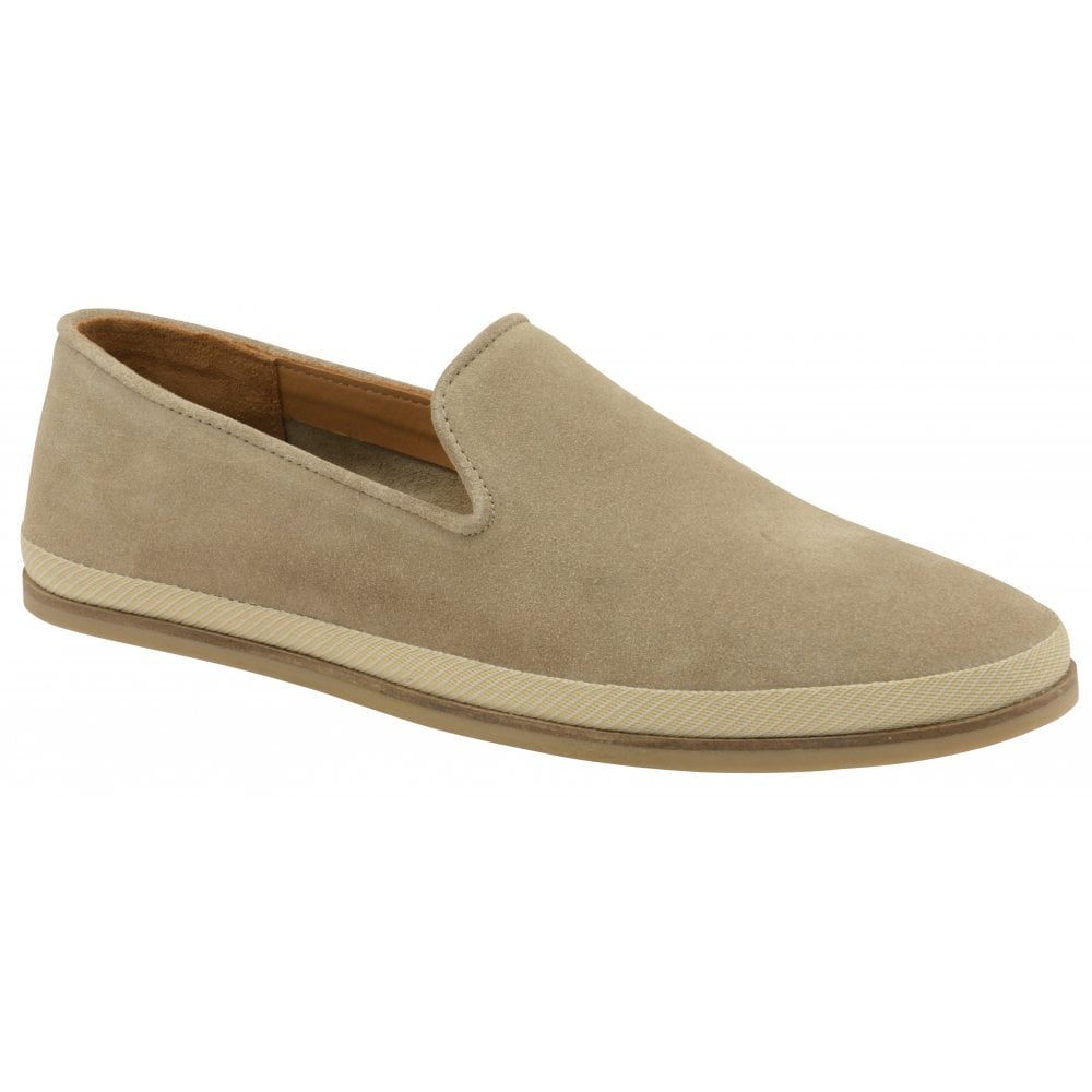 b03676053dc Buy men s sand suede Frank Wright Tarn Loafers online at gola
