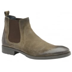 Sand Willow Suede Chelsea Boot | Frank Wright