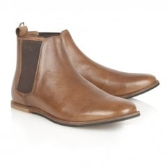 Stark Rust Leather Chelsea Boot
