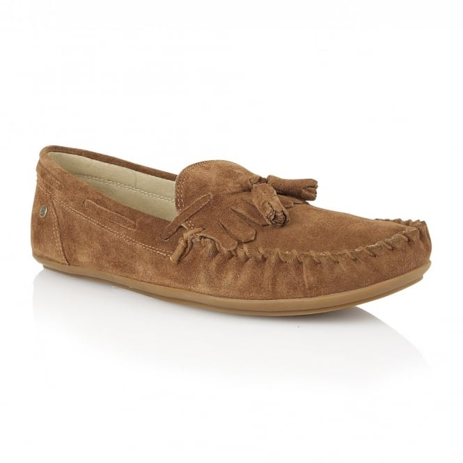 Tan Nevis Suede Loafer | Frank Wright