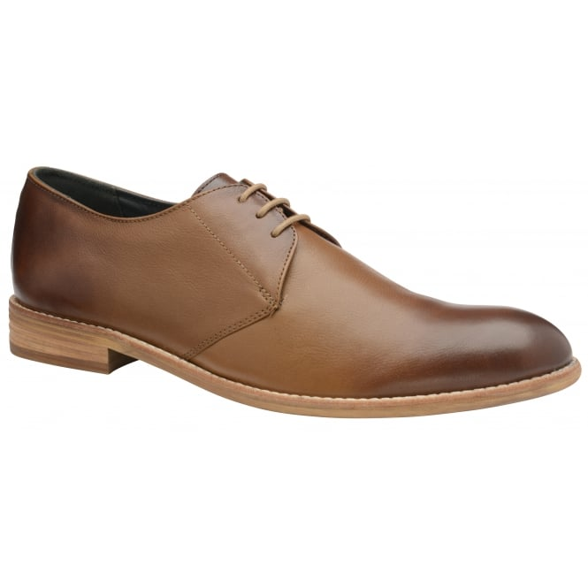 Tan Pitt Leather Derby Shoe | Frank Wright