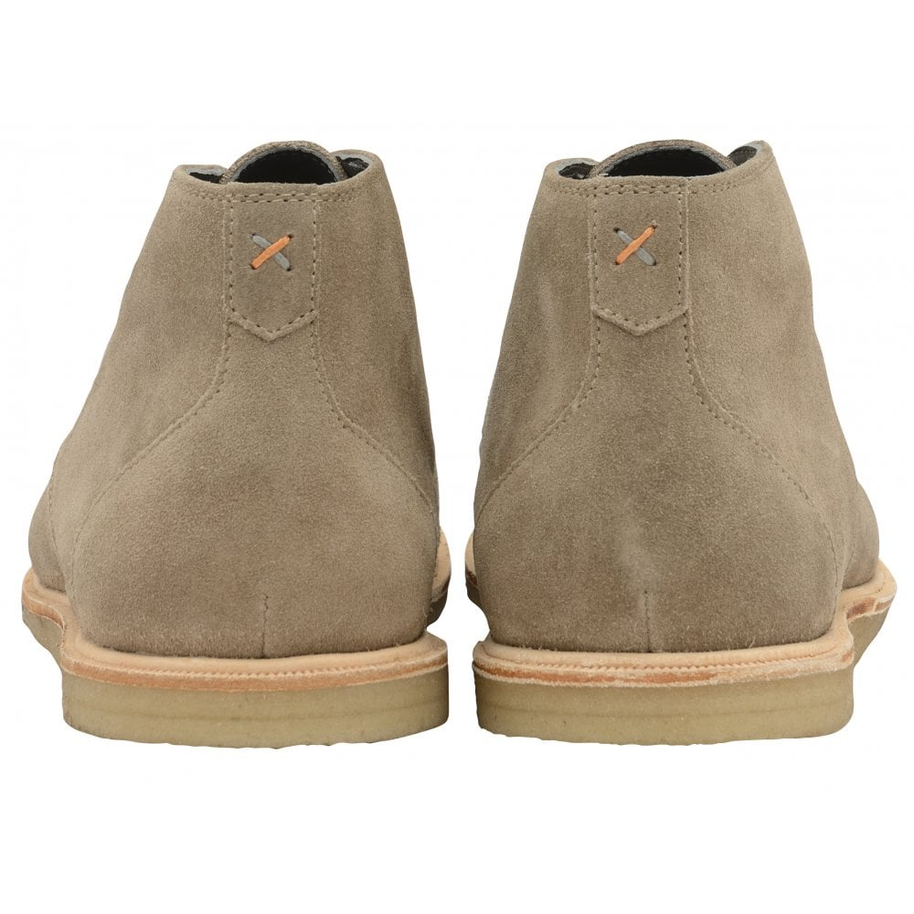 8169e371ad7 Taupe Baxter Suede Chukka Boot | Frank Wright