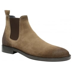 Taupe Wyatt Suede Chelsea Boot | Frank Wright