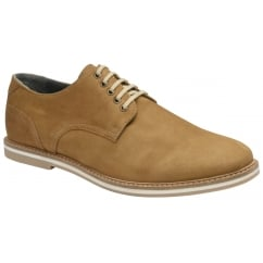 Tobacco Alton Leather Derby Shoe | Frank Wright