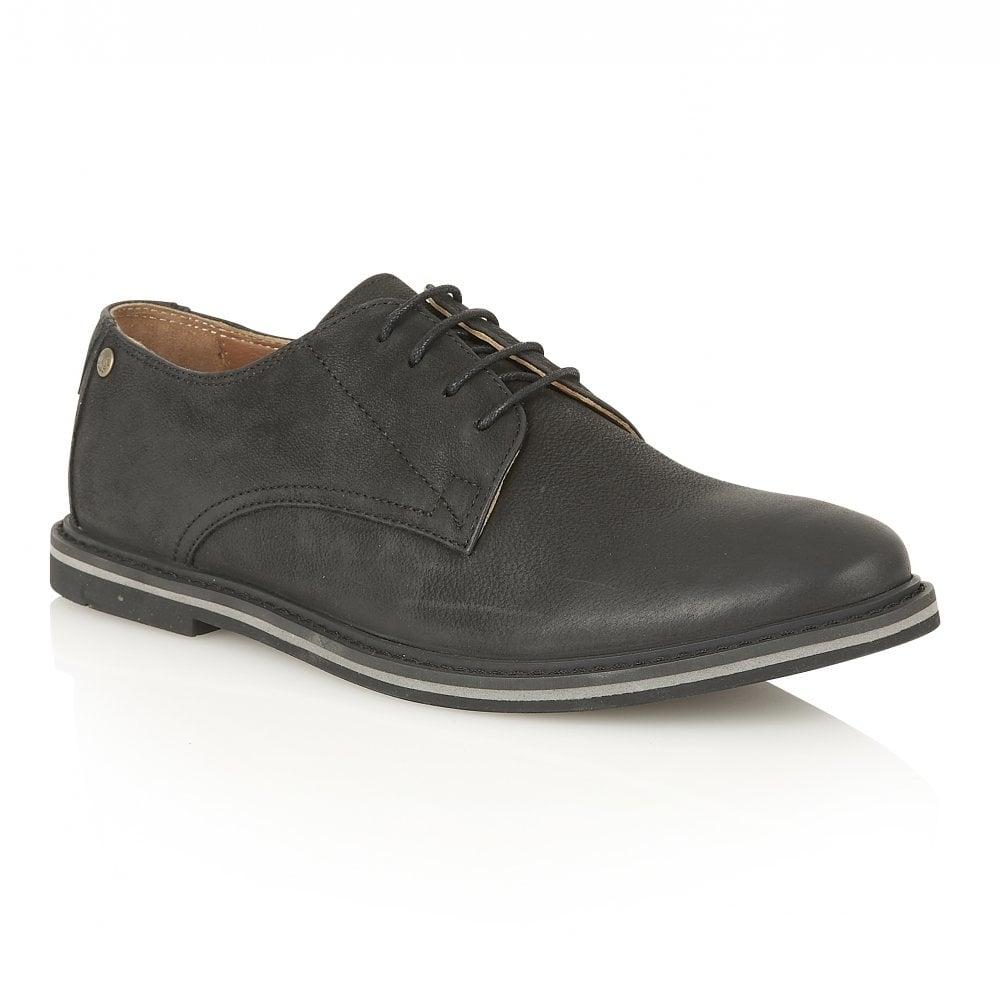 Buy Mens Frank Wright Woking II Black Leather Derby Shoe Online